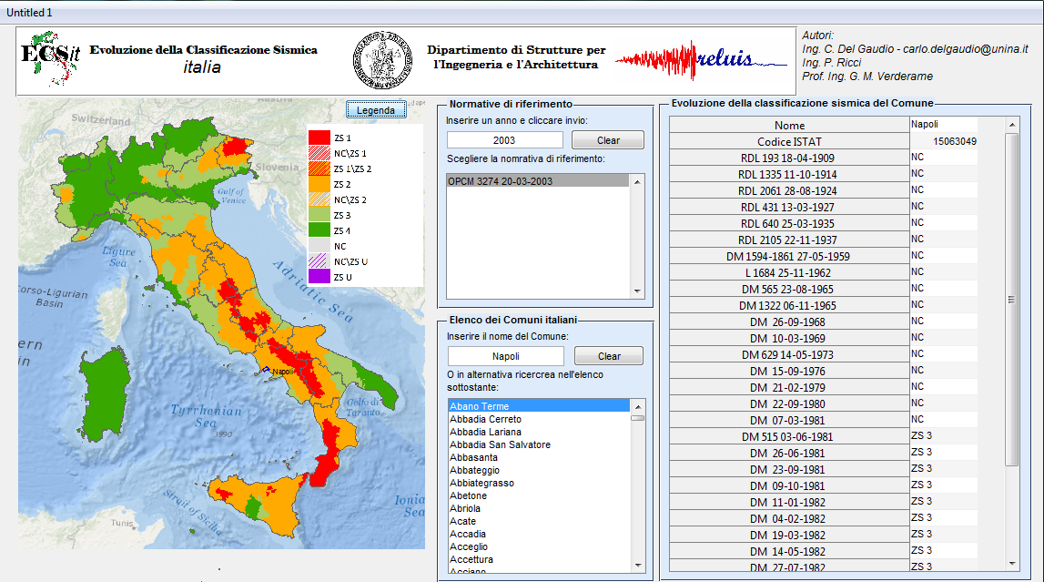 Cartina Dell Italia Zone Sismiche.Ecs It