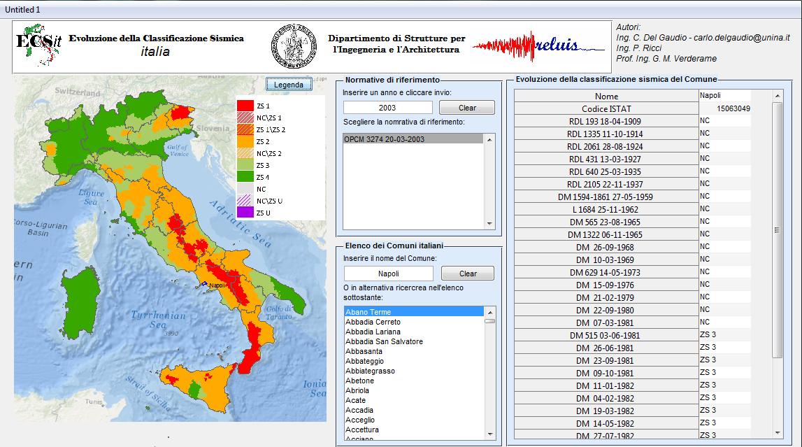 Cartina Dellitalia Zone Sismiche.Ecs It